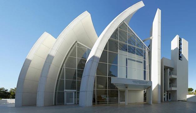 Richard meier retrospectiva for Arquitectura 7 bellas artes