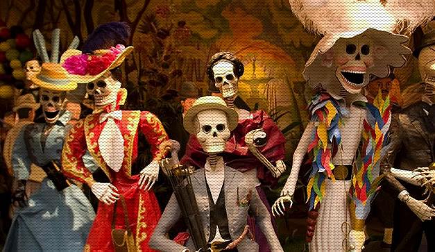 El Día De Muertos Es La Fiesta Favorita De Los Viajeros: Día De Muertos En México ¿Quien Necesita Hallowen